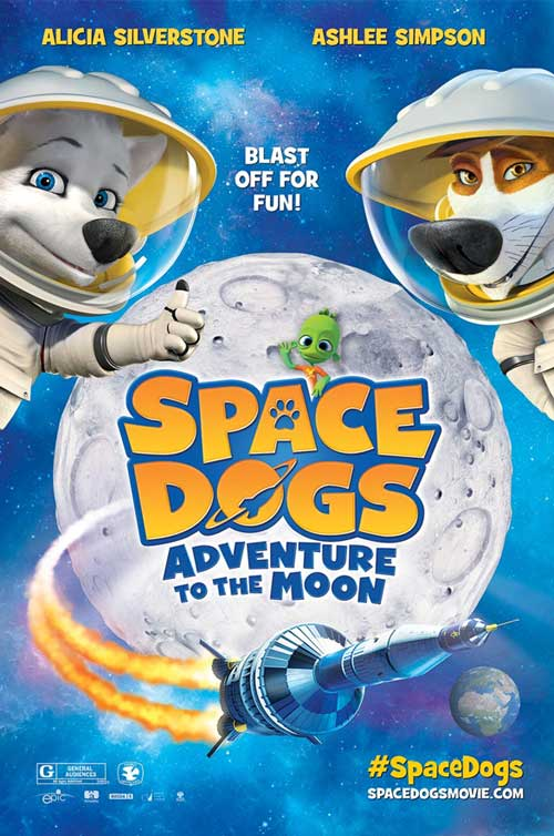 Space Dogs Adventure to the Moon Poster