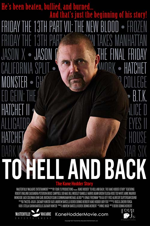 To Hell And Back: The Kane Hodder Story Poster