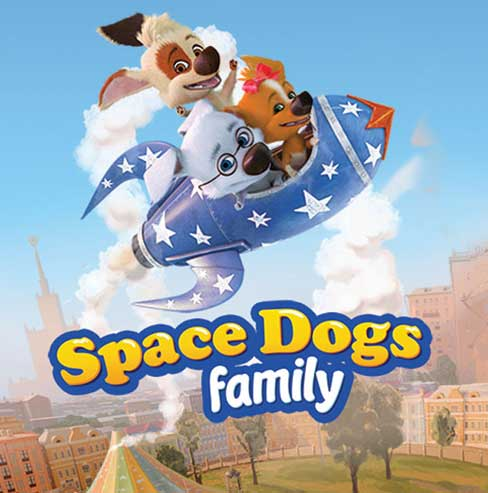 Space Dogs Family