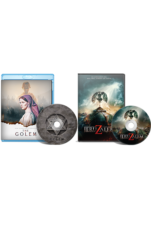 A Paz Brother's Double Feature: The Golem Blu-Ray/Jeruzalem DVD