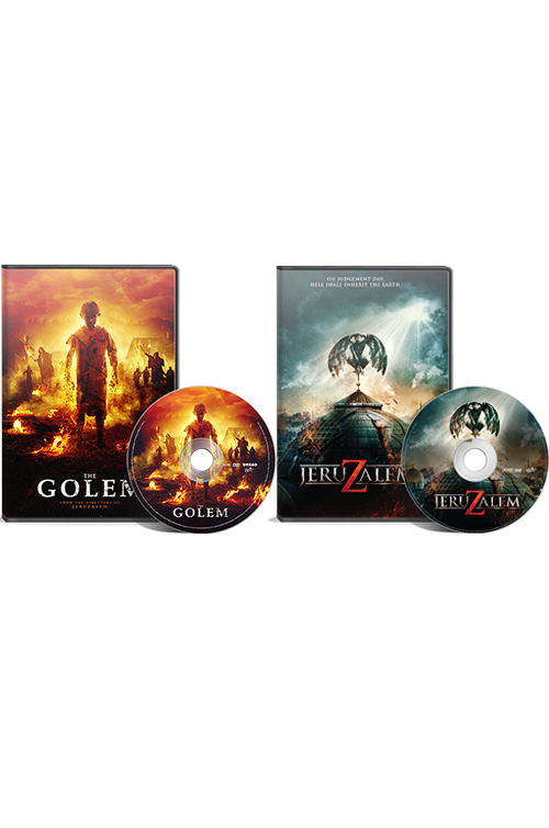 A Paz Brother's Double Feature: The Golem DVD/Jeruzalem DVD