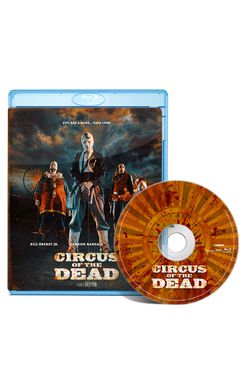 Circus of the Dead Blu-ray