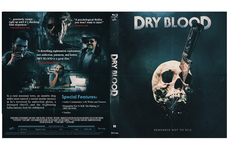 Dry Blood Blu-Ray   Epic Pictures
