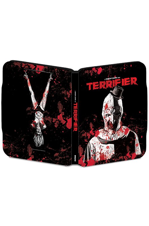 LIMITED COLLECTOR'S EDITION TERRIFIER STEEL BOOK