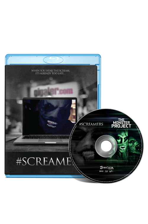 #Screamers/The Monster Project: Double Feature Blu-Ray