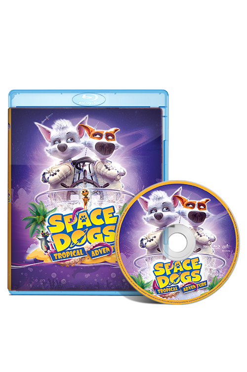 Space Dogs: Tropical Adventure Blu-ray