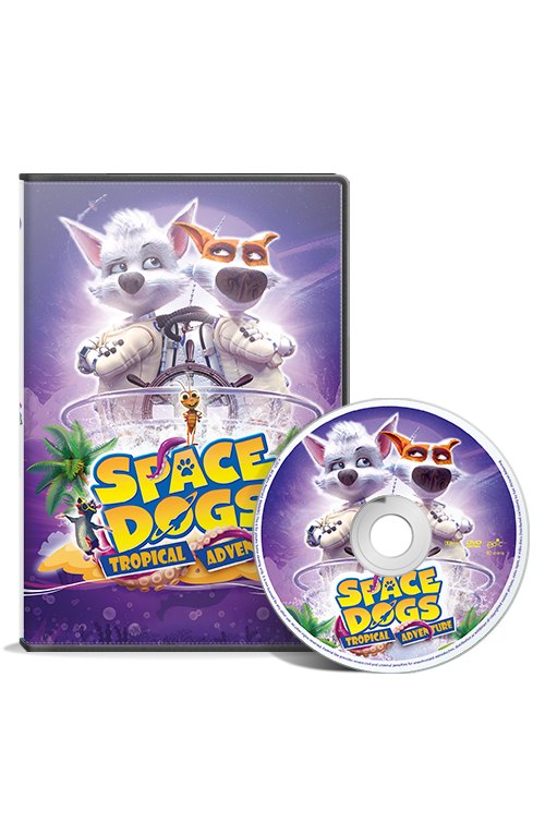 Space Dogs: Tropical Adventure DVD
