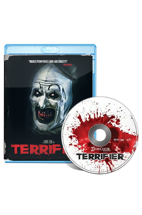 TERRIFIER: 2-disc pack DVD + Blu-ray