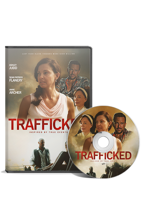 Trafficked DVD
