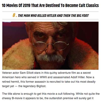 10 Movies Of 2019 That Are Destined To Become Cult Classics