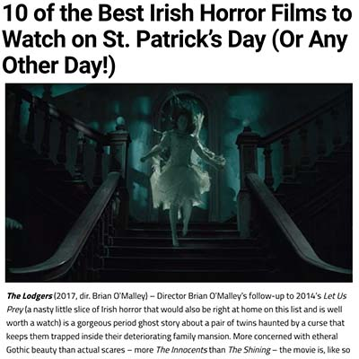 10 of the Best Irish Horror Films to Watch on St. Patrick's Day (Or Any Other Day!)