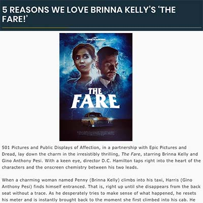 5 REASONS WE LOVE BRINNA KELLY'S 'THE FARE!'