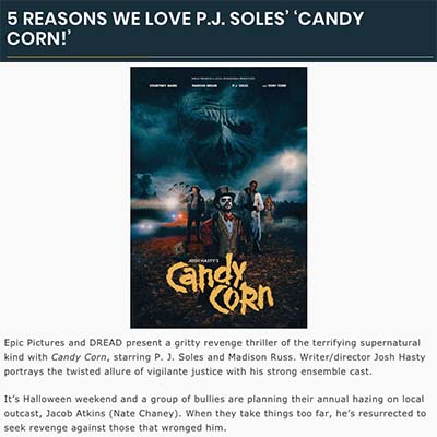 5 REASONS WE LOVE P.J. SOLES' 'CANDY CORN!'