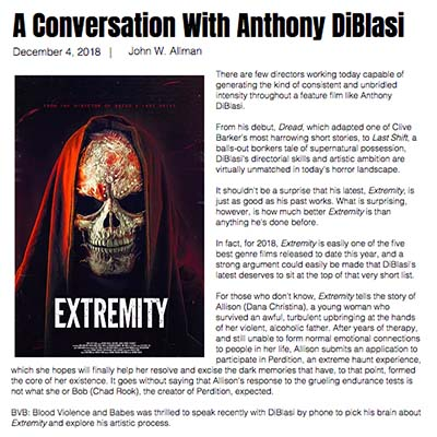 A Conversation With Anthony DiBlasi