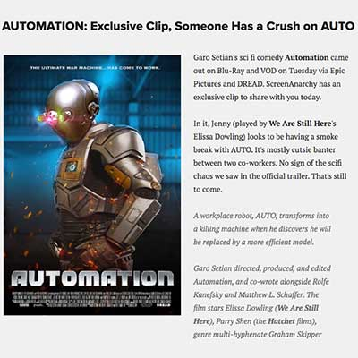 AUTOMATION: Exclusive Clip, Someone Has a Crush on AUTO