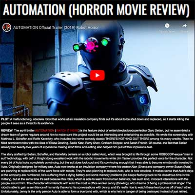 AUTOMATION (HORROR MOVIE REVIEW)