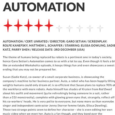 AUTOMATION Review