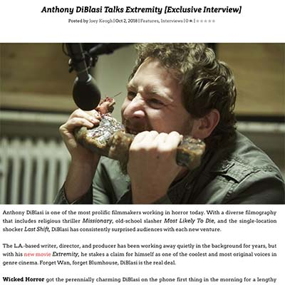 Anthony DiBlasi Talks Extremity [Exclusive Interview]