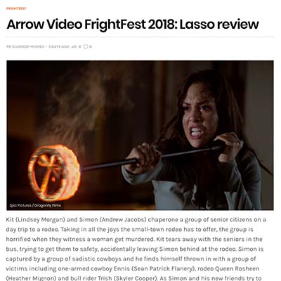 Arrow Video FrightFest 2018: Lasso review