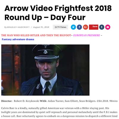 Arrow Video FrightFest 2018 Round Up-Day Four