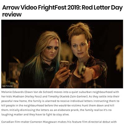 Arrow Video FrightFest 2019: Red Letter Day review