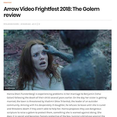 Arrow Video Frightfest 2018: The Golem review