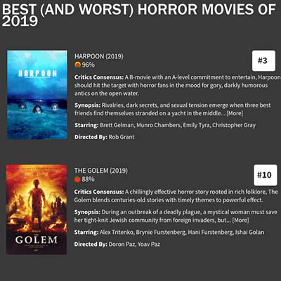 BEST (AND WORST) HORROR MOVIES OF 2019 - ROTTEN TOMATOES