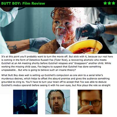BUTT BOY: Film Review