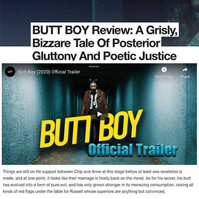 BUTT BOY Review: A Grisly, Bizzare Tale Of Posterior Gluttony And Poetic Justic