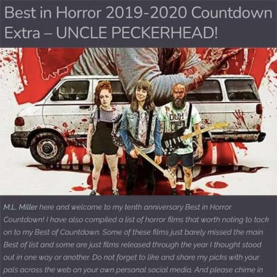Best in Horror 2019-2020 Countdown Extra – UNCLE PECKERHEAD!