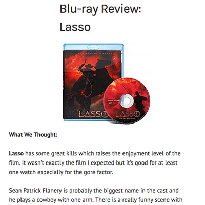 Blu-ray Review: Lasso