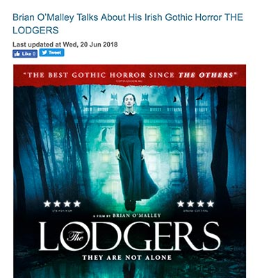 Brian O'Malley Talks About His Irish Gothic Horror THE LODGERS