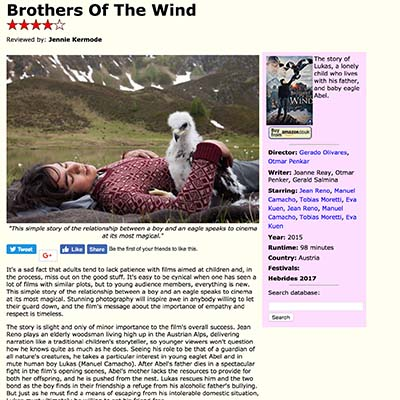 Brothers Of The Wind Film Review