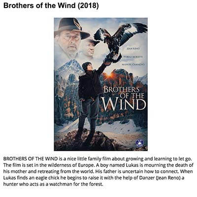 Brothers of the Wind (2018)
