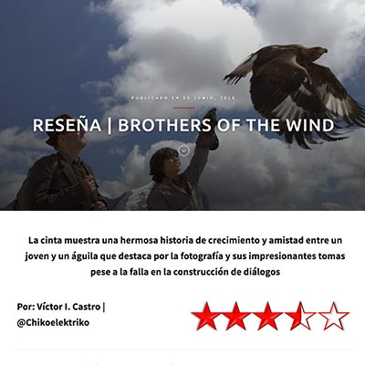 Brothers of the Wind: Review