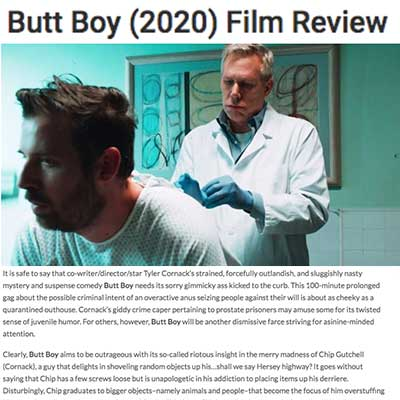 Butt Boy (2020) Film Review