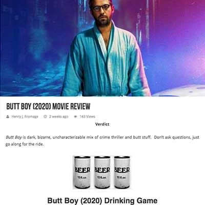 Butt Boy (2020) Movie Review