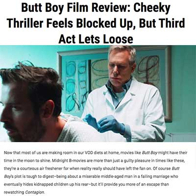 Butt Boy Film Review: Cheeky Thriller Feels Blocked Up, But Third Act Lets Loose