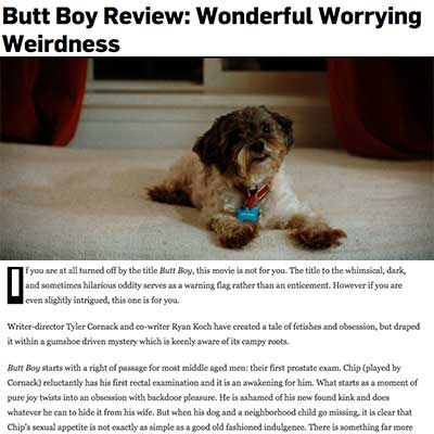 Butt Boy Movie Butt Boy Review: Wonderful Worrying Weirdness