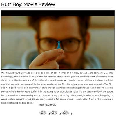 Butt Boy: Movie Review