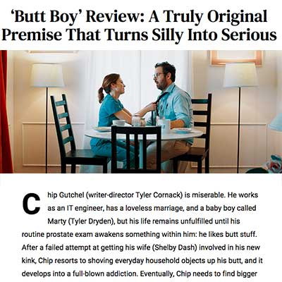 'Butt Boy' Review: A Truly Original Premise That Turns Silly Into Serious