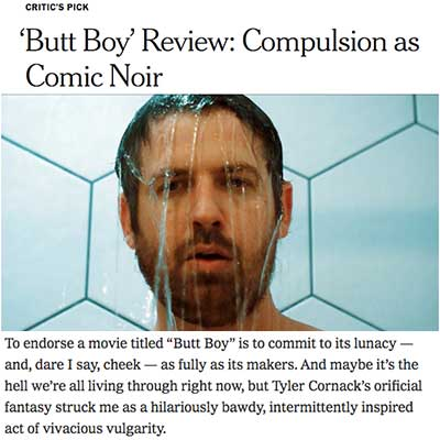 'Butt Boy' Review: Compulsion as Comic Noir