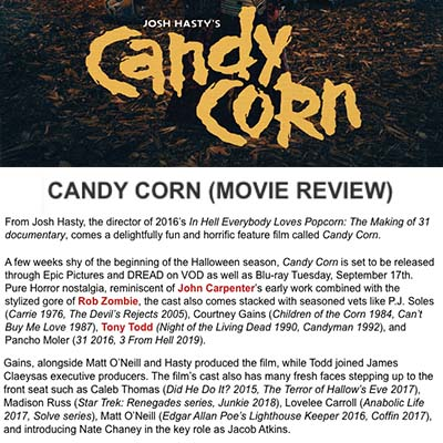 CANDY CORN (MOVIE REVIEW)