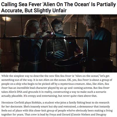 Calling Sea Fever 'Alien On The Ocean' Is Partially Accurate, But Slightly Unfair