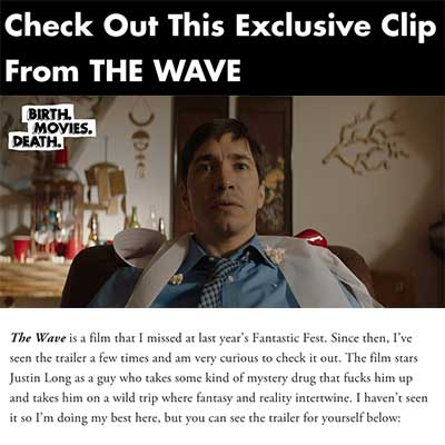 Check Out This Exclusive Clip From THE WAVE