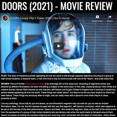 DOORS (2021) - MOVIE REVIEW