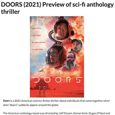 DOORS (2021) Preview of sci-fi anthology thriller