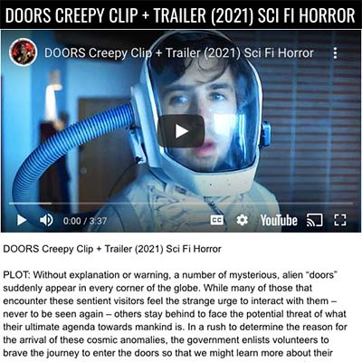 DOORS CREEPY CLIP + TRAILER (2021) SCI FI HORROR