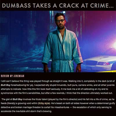 DUMBASS TAKES A CRACK AT CRIME…