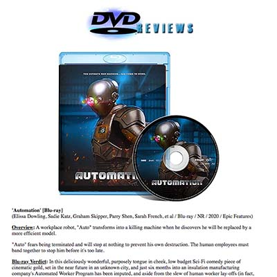 DVD Reviews - Automation Blu-ray